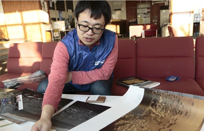 デザイナー時代に手がけたカレンダー制作が田本研造との出会い