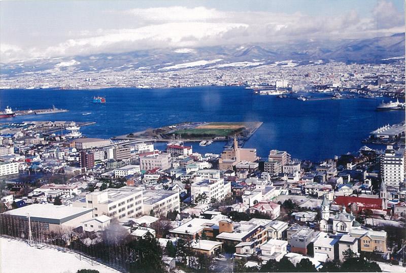 「蟹工船」の舞台となったの函館港