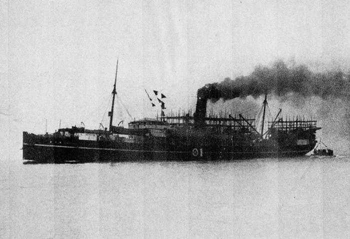 「蟹工船」(1940年発行の海軍雑誌「海と空」から)