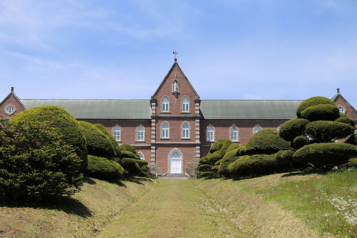 Tobetsu Trappist Monastery in the city of Hokuto