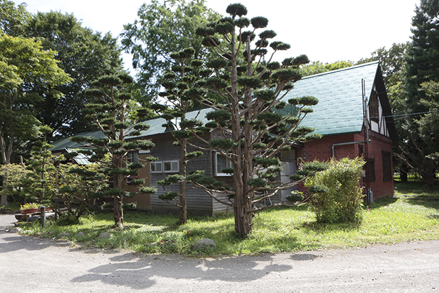 The former Tokugawa Farm Office, which was relocated during the war, and Yoshichika Tokugawa's country house, which was built after the war