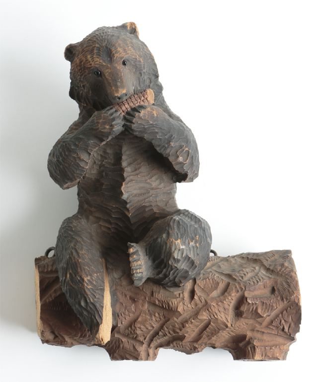 Carved Wooden Bears Are Iconic Hokkaido Souvenirsthe Towns Of