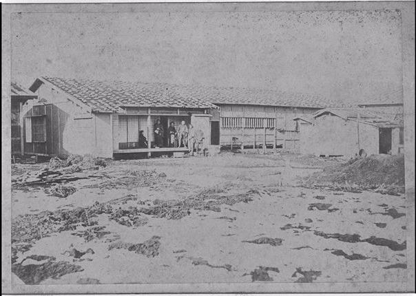 現在の大通東2丁目13番地にあった中川源左衛門居宅(1871年)(提供:北海道大学附属図書館北方資料室)