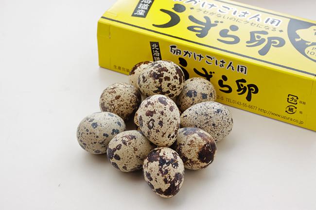 卵かけごはん用うずら卵10個入り190円