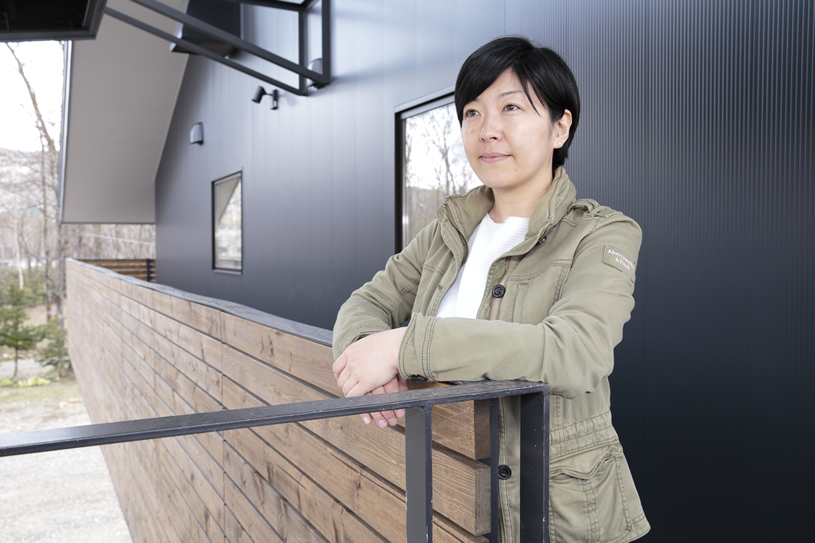 Oshima Yumi, arshitect of registered architect's office Atelier Ondo