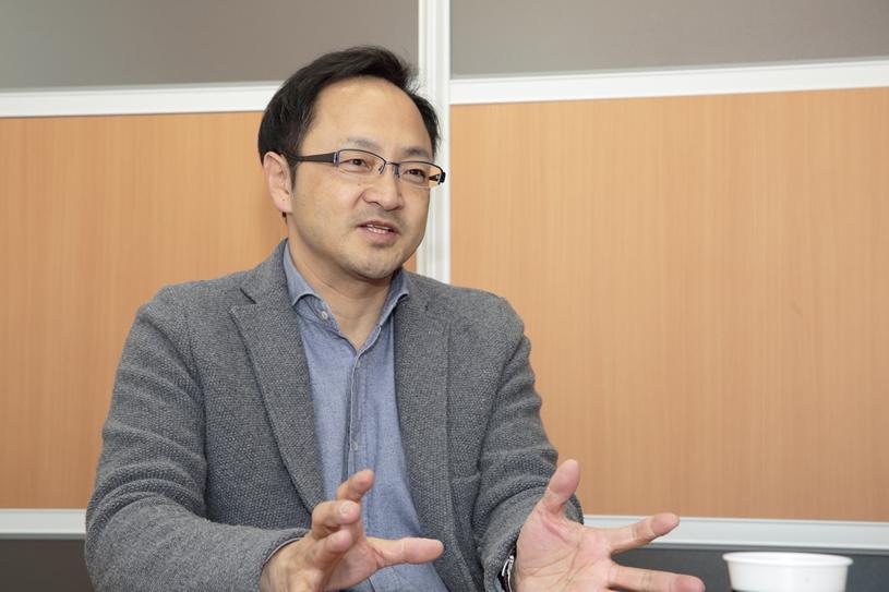 上川大雪酒造を立ち上げた塚原敏夫さん。三國シェフとともに上川町のまちづくりに深く関わる