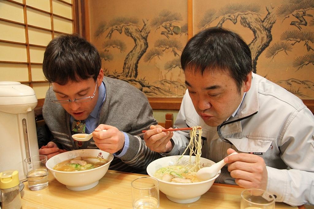 「ラーメン日本一」を謳う上川町